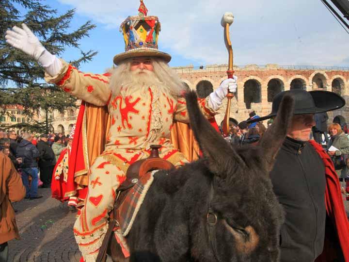 Bacanàl del Gnoco, il carnevale veronese Verona