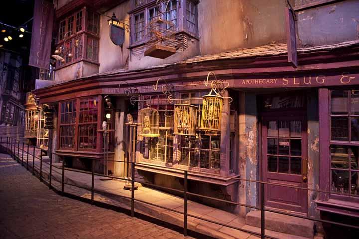 Cena di natale da harry potter a hogwarts nel parco a tema date 2018 - A tavola con harry potter ...