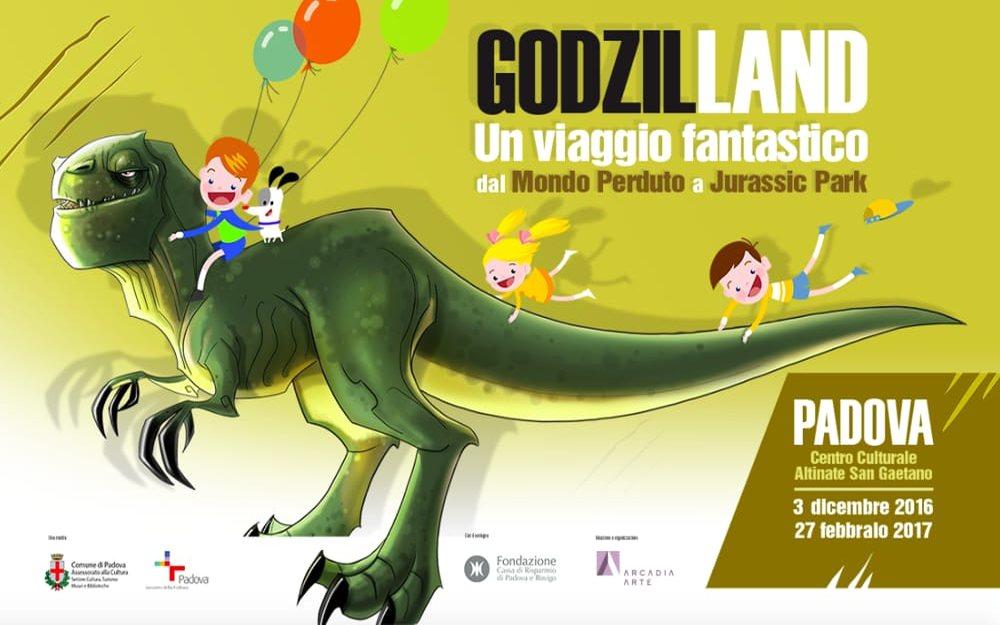 Godzil-Land. Un viaggio fantastico dal Mondo Perduto a Jurassic Park - See more at: http://padovacultura.padovanet.it/it/attivita-culturali/godzil-land#sthash.MASh40fx.dpuf Padova