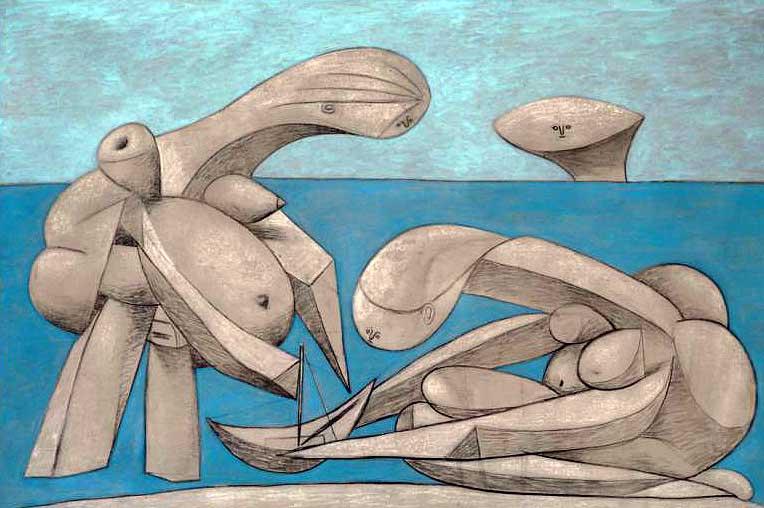 Picasso sulla spiaggia Venezia
