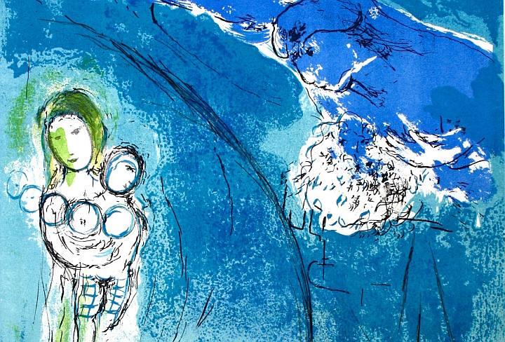 Marc Chagall - l'artista che dipingeva fiabe d'amore Torino