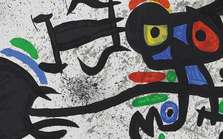 Miró e Marino - I colori del Mediterraneo Pistoia
