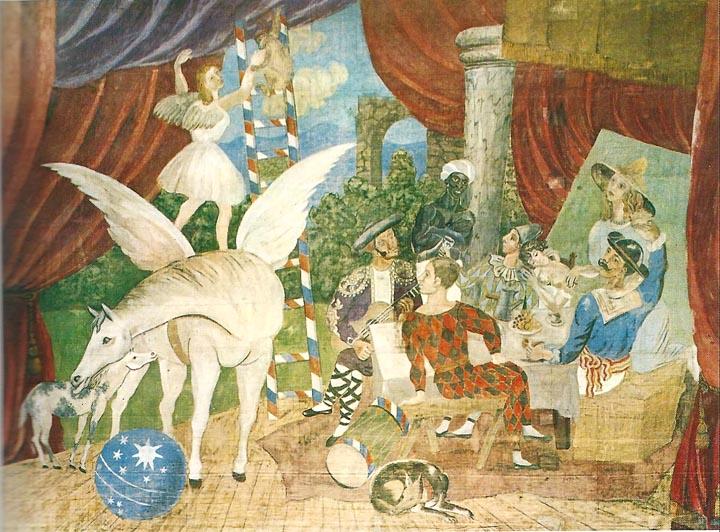 Picasso-Parade Napoli 1917 Napoli