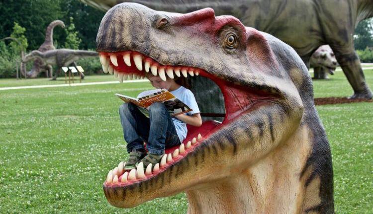 The world of dinosaurs Vieste