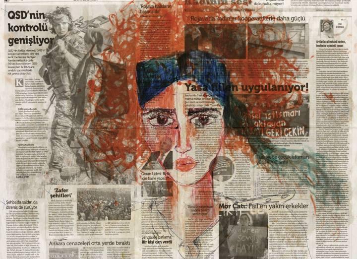 Avremo anche giorni migliori – Zehra Doğan. Opere dalle carceri turche Brescia