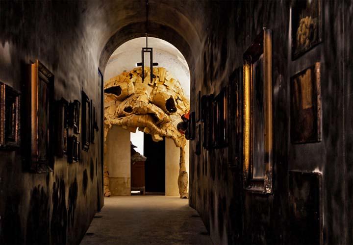 """OmoGirando il Teatro di Pompeo e """"The Dark Side"""" - Roma, 25 gennaio, 17:00 Mostra-paura-del-buio-Roma"""