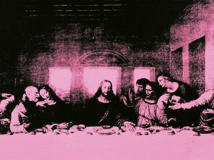 Leonardo da Vinci e Andy Warhol Milano