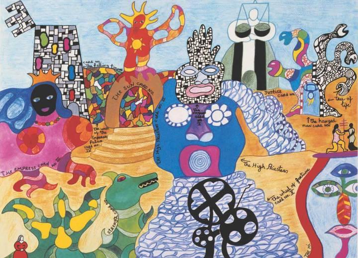 Il luogo dei sogni: Il Giardino dei Tarocchi di Niki de Saint Phalle Capalbio