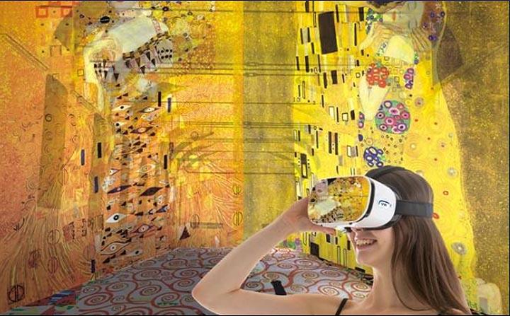 KLIMT Arte Virtuale e Immagini Napoli