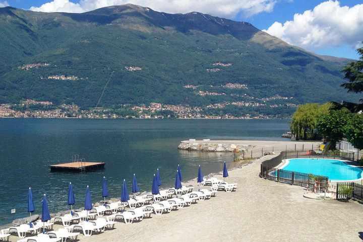 Le pi belle spiagge del lago di como for Lago con spiaggia vicino a milano