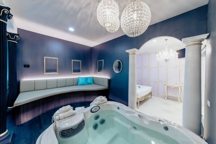 Hotel con vasca idromassaggio jacuzzi in camera, ecco dove