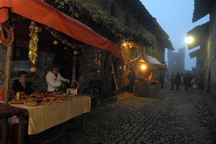 Borgo di Babbo Natale Ricetto di Candelo