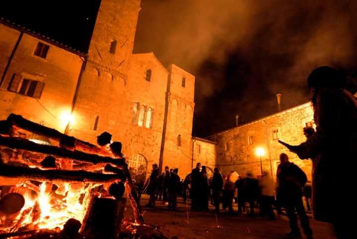 Fiaccole di Natale Abbadia San Salvatore
