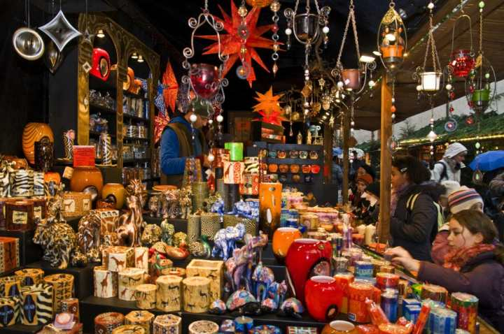 Freiburger Weihnachtsmarkt Friburgo in Brisgovia