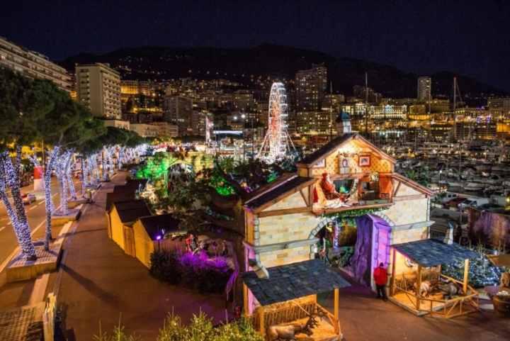 Le village de Noël Principato di Monaco