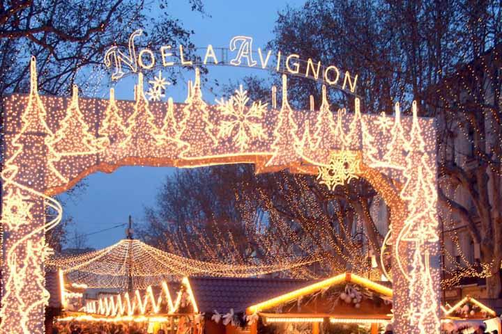 Avignon fête Noël Avignone