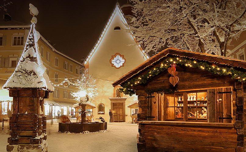 Paese di Natale Ortisei Ortisei