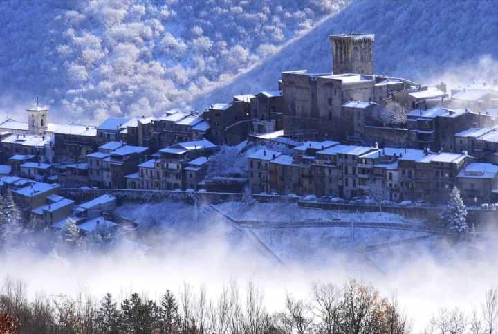 Natale al Borgo e al Castello Trevi nel Lazio