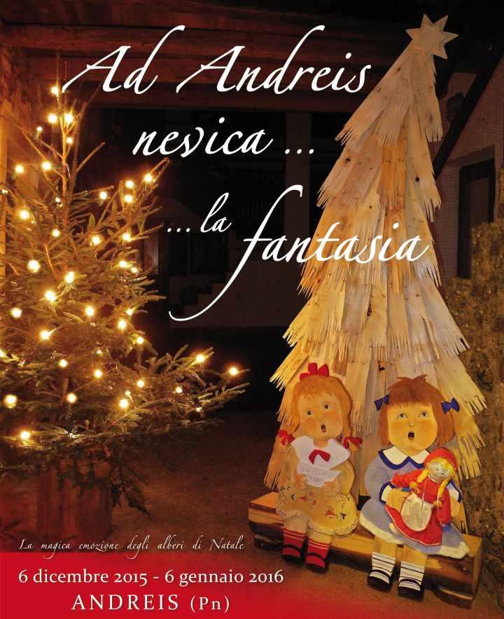 Mercatini di Natale 2016 Andreis
