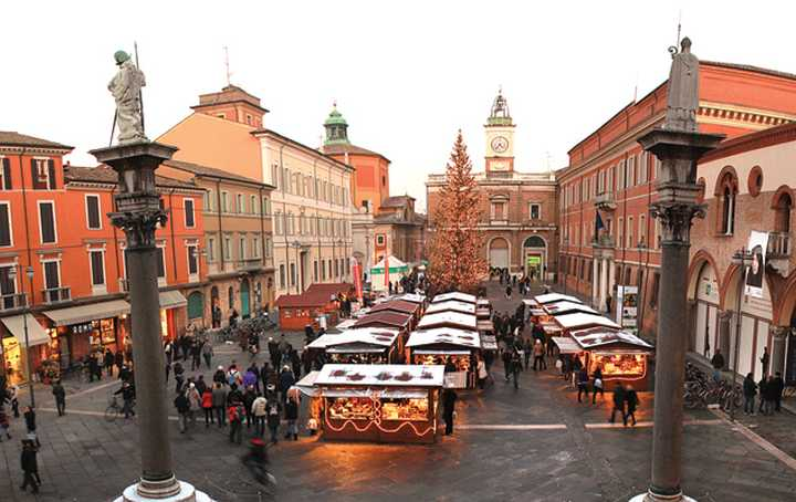 Mercatini di Natale 2016 Ravenna