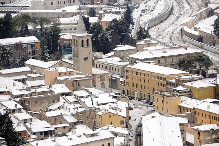Spoleto d'inverno Spoleto