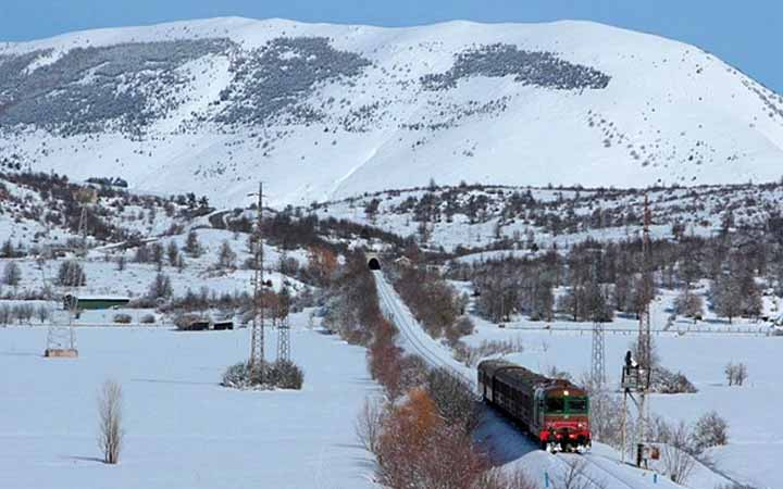 Il treno dei mercatini di Natale Sulmona