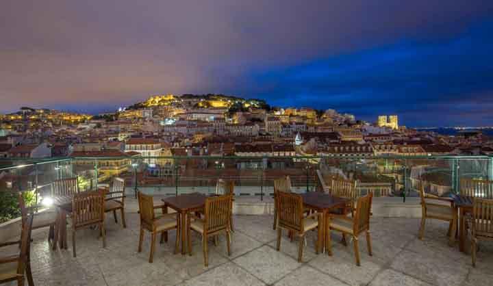 Viste panoramiche su Lisbona, ecco i migliori rooftop bar