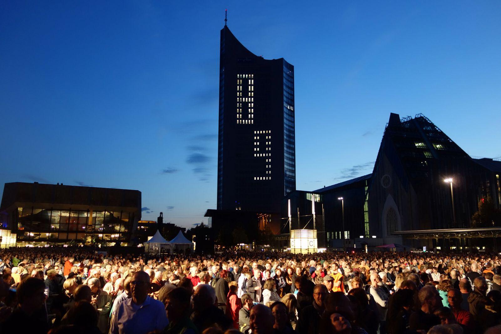 Festival delle Luci Lipsia