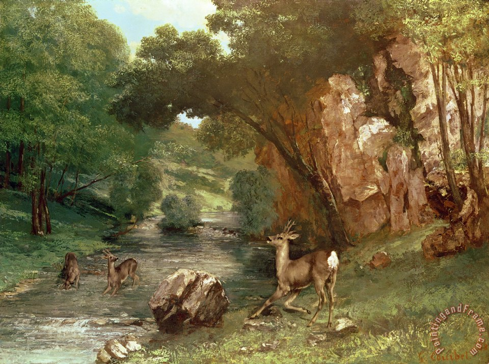 Courbet e la natura Ferrara