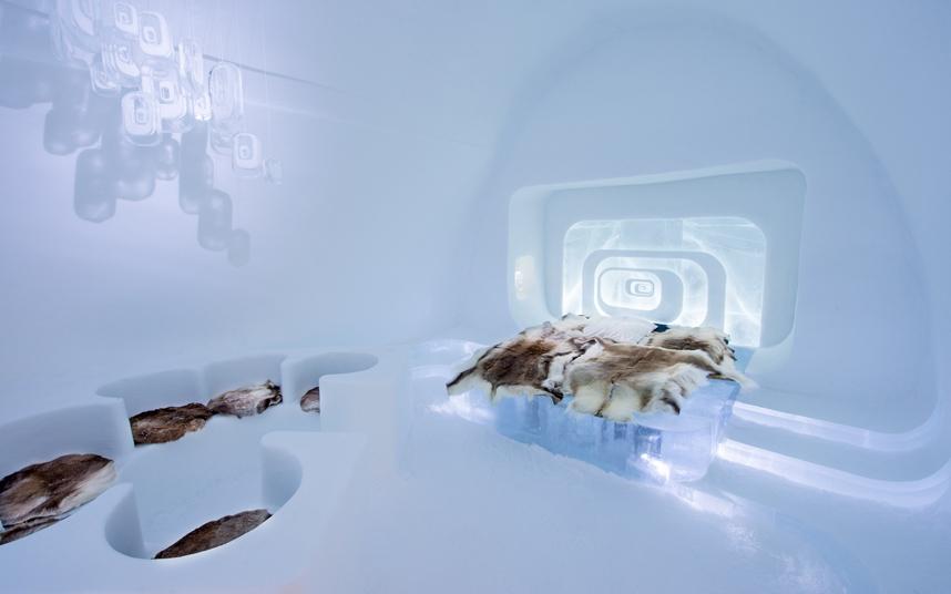 Gli hotel di ghiaccio pi belli del mondo - Saint de glace 2018 ...