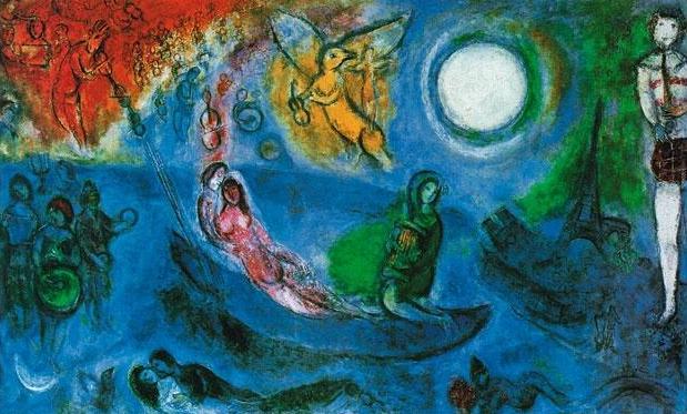 Marc Chagall e le arti Mantova