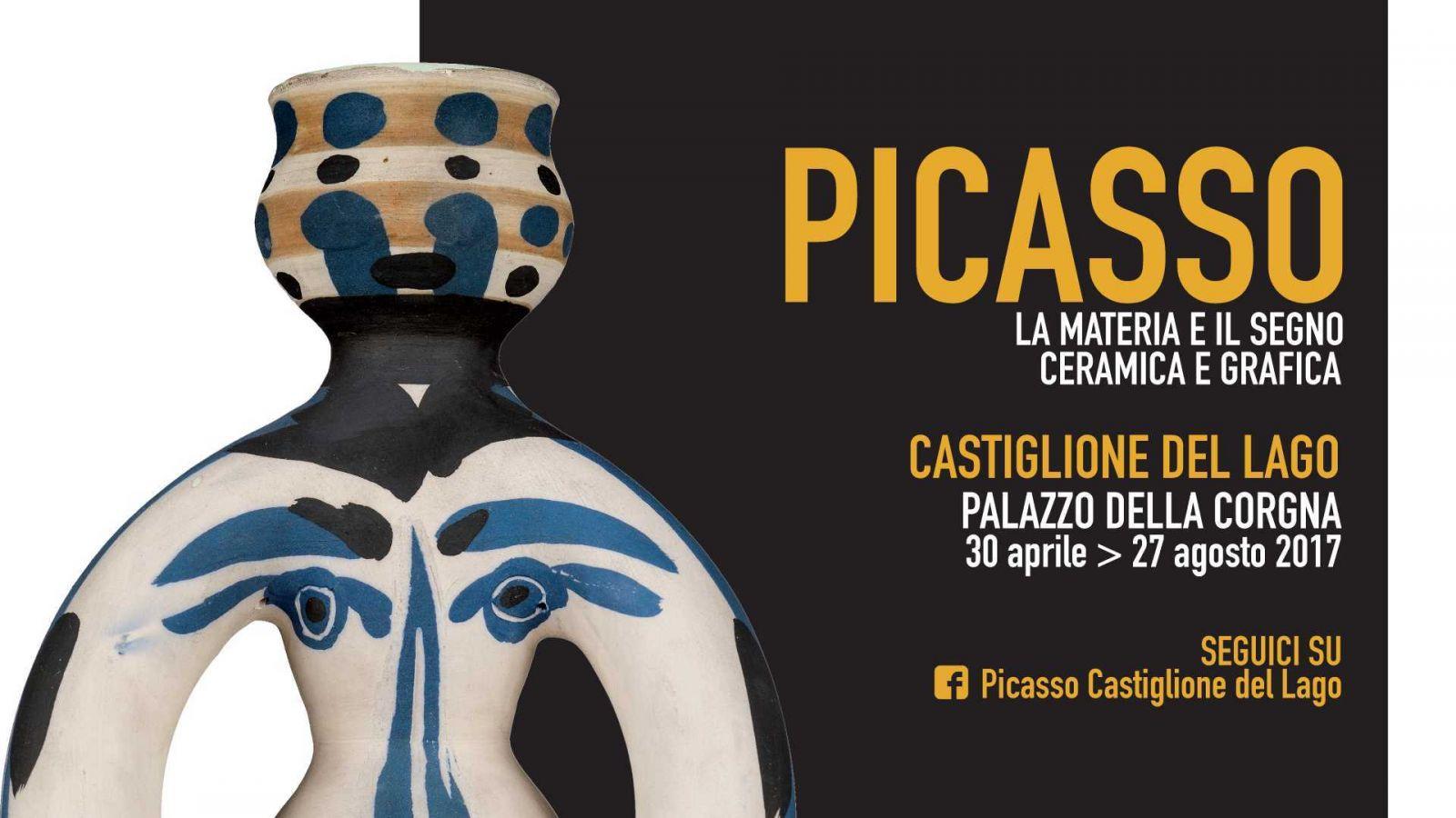 Pablo Picasso. La materia e il segno. Ceramica, grafica Castiglione del Lago