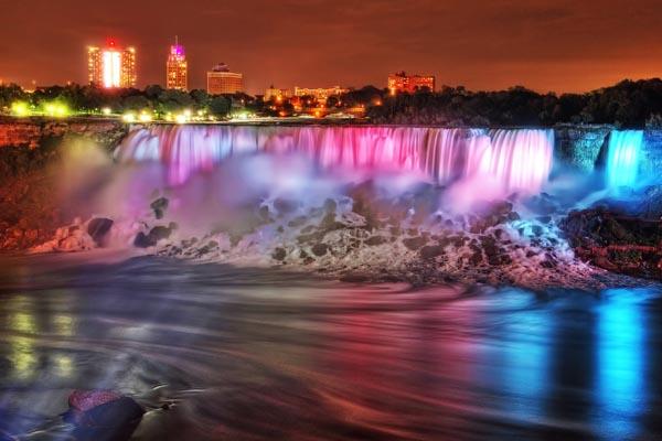 Ontario Power Generation Winter Festival of Lights Niagara Falls