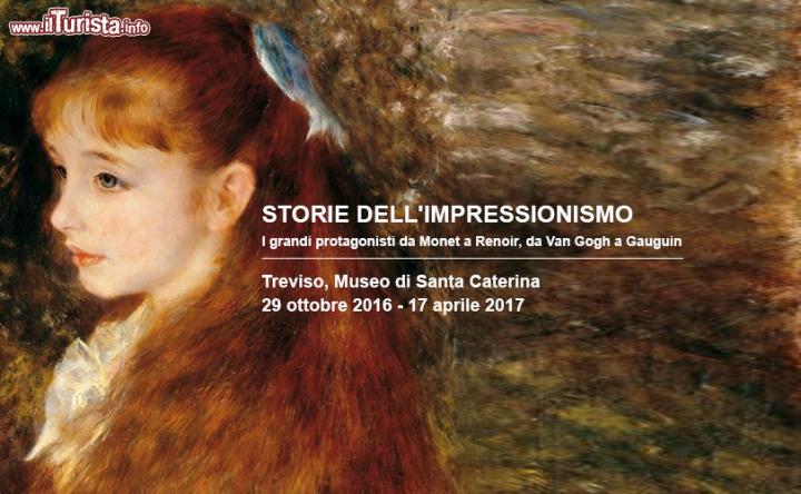 La storia dell'Impressionismo in mostra a Treviso | Date 2016 / 2017