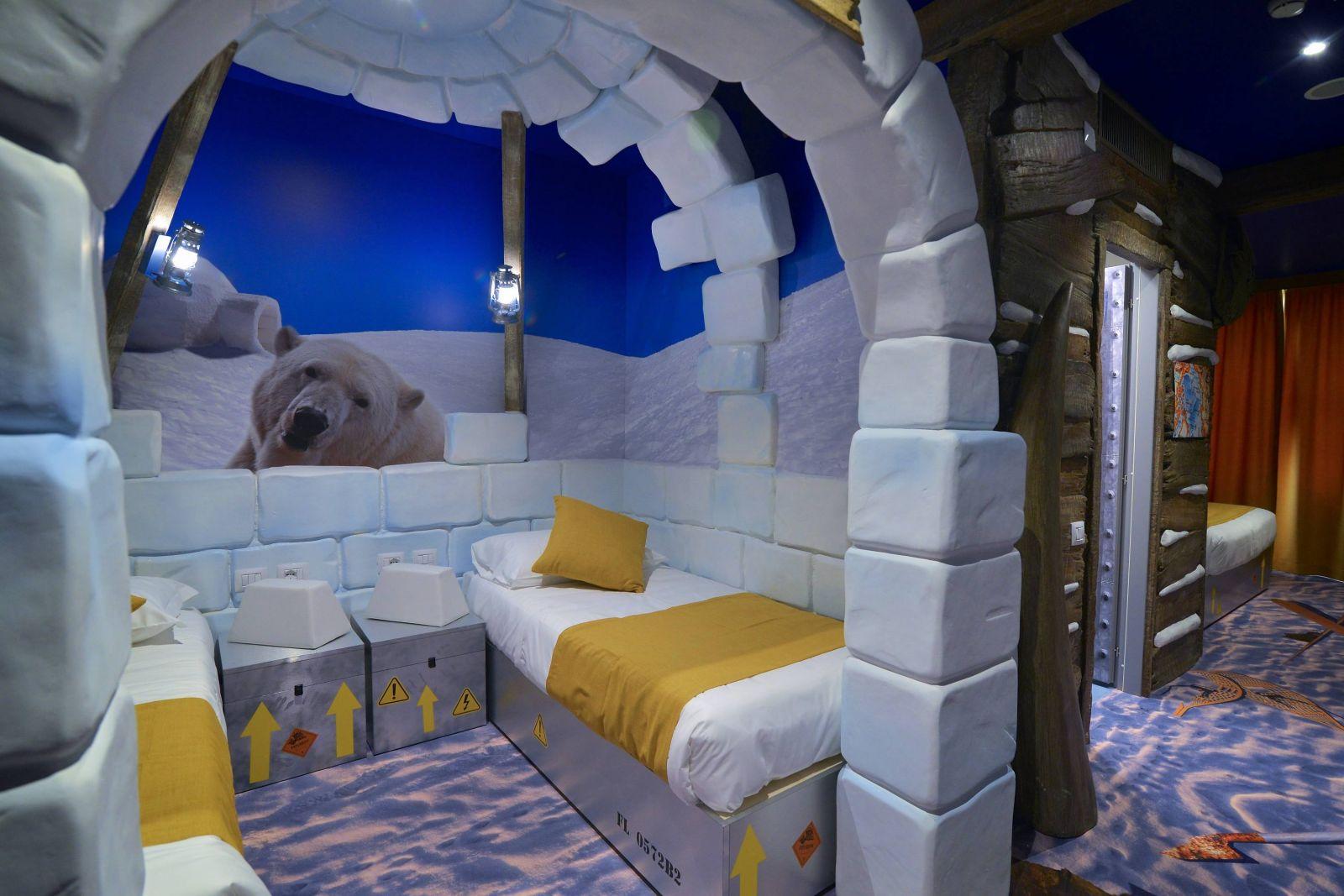 La Camera Da Letto Piu Grande Del Mondo : Hotel a tema per bambini in italia un soggiorno da fiaba