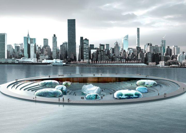 Aquatrium, il nuovo acquario di New York City sull'East River