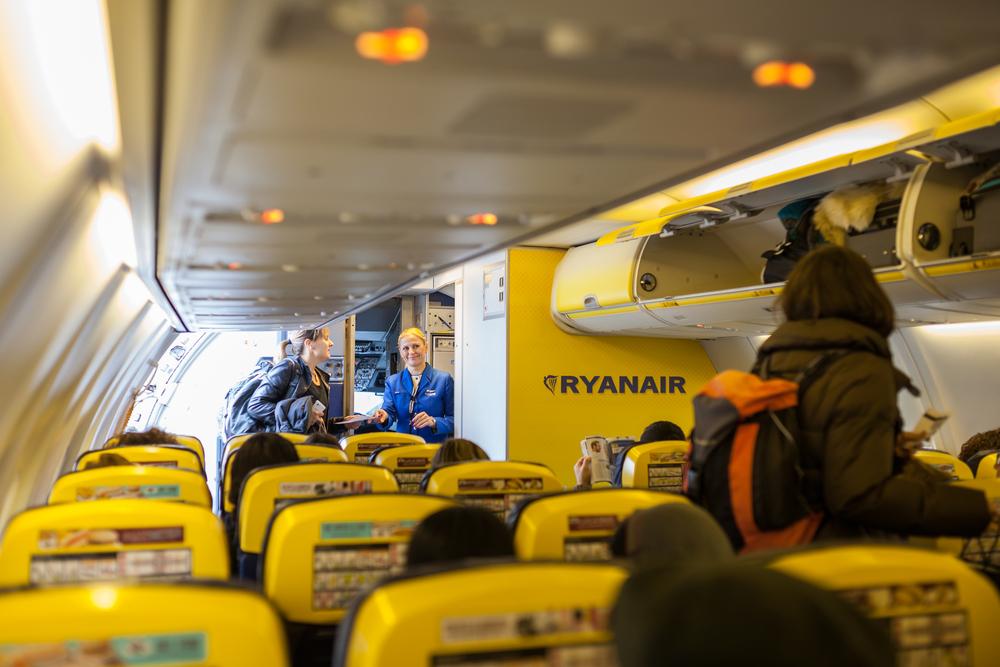 Ryanair : novità per bagaglio a mano