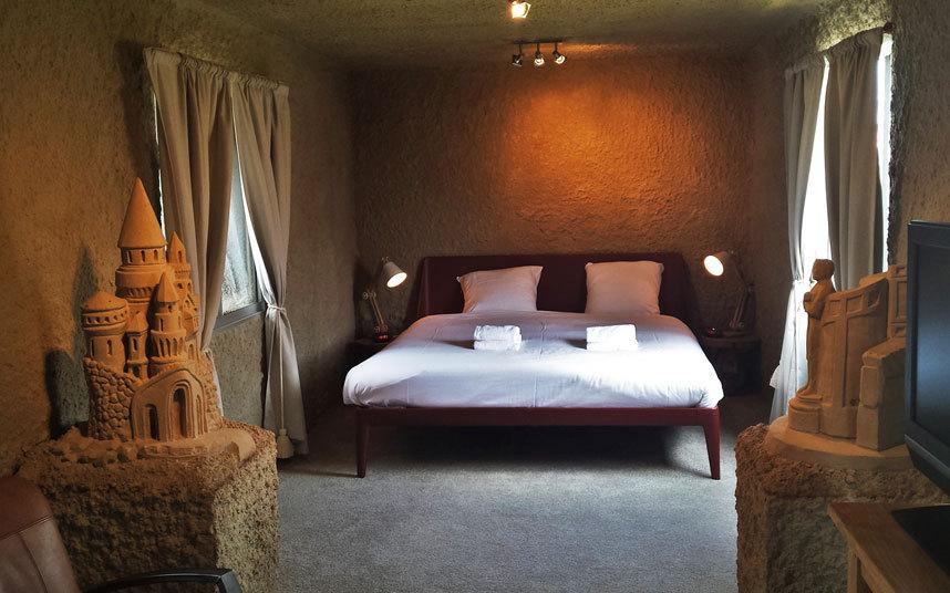 ZandHotel, dormire dentro ad un castello di sabbia