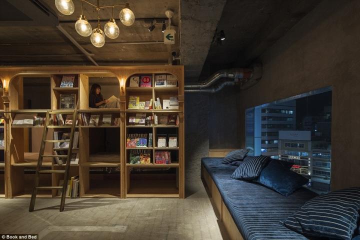 Letti A Castello Per Ostelli.Book And Bed A Tokyo L Ostello Per Dormire Tra I Libri Sullo Scaffale