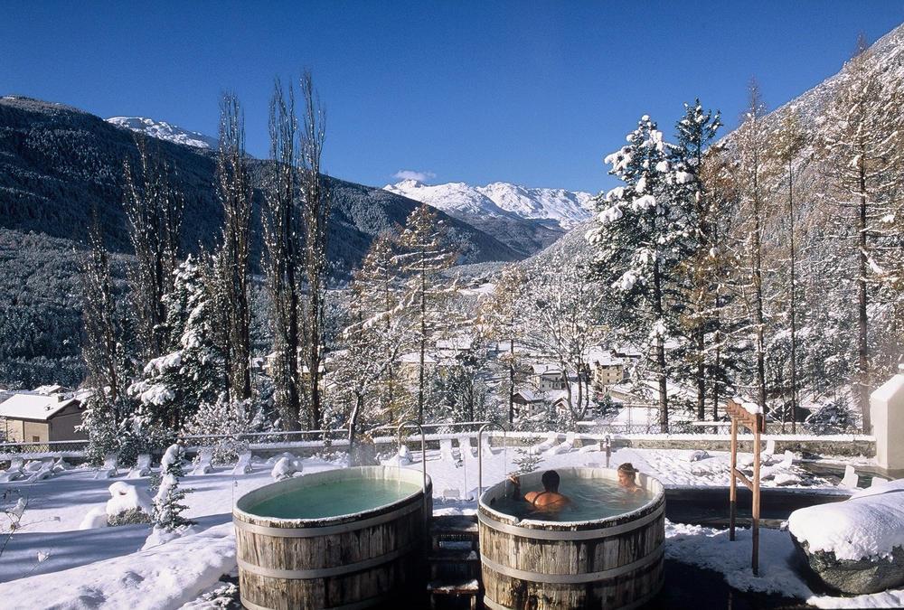 Bagni Termali Svizzera : Terme sulla neve in italia tra sci e piscine termali in mezzo