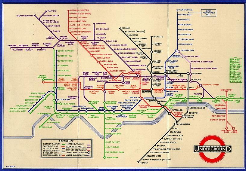 Cartina Londra Metro E Monumenti.Una Nuova Mappa Della Metropolitana Di Londra Meglio Di Quella Ufficiale