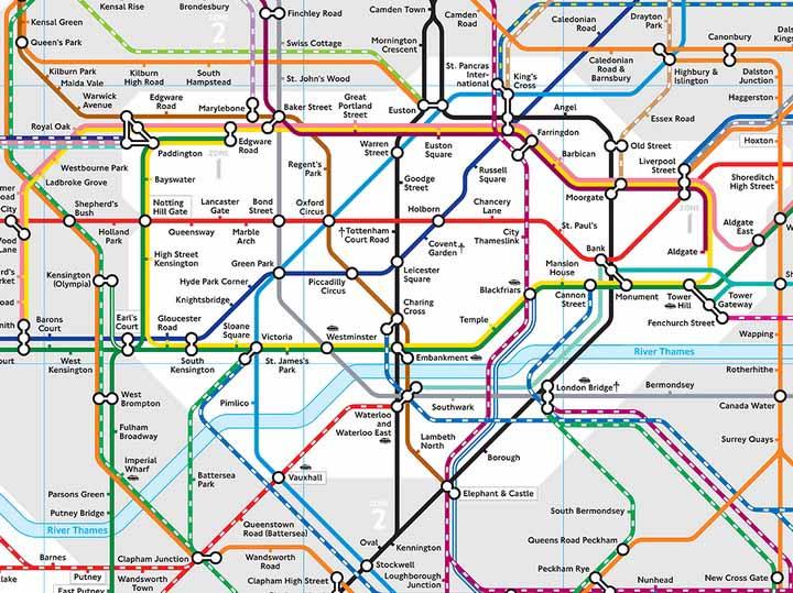 Metropolitana Di Londra Cartina.Una Nuova Mappa Della Metropolitana Di Londra Meglio Di Quella Ufficiale